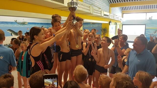 """""""Wir haben den Pokal!"""" Schwimmfest 2017"""